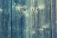 Old cracked wood board Stock Images