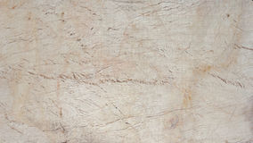 Old cracked wood panel painted white Stock Images