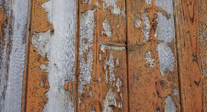 Old cracked wooden fence or floor close-up Royalty Free Stock Images