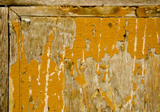 Old and cracked wooden painted background Stock Images