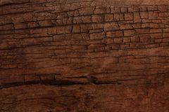 Old cracked wooden surface Royalty Free Stock Image