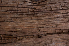 Old cracked wooden surface Stock Image