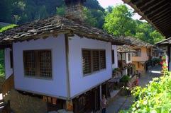 Old crafts street in Etar,Bulgaria Royalty Free Stock Image