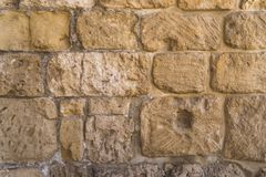 Old crag Stone wall texture or background royalty free stock images