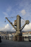 Old crane[2] Stock Photography