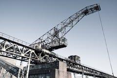 Old crane Royalty Free Stock Image