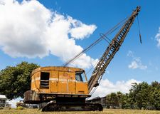 Old Crane Arm. One very old crane that has done it time Royalty Free Stock Image