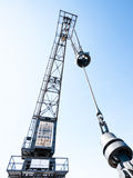 Old crane Stock Photography