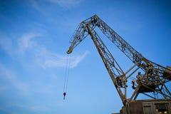 Old crane Stock Image