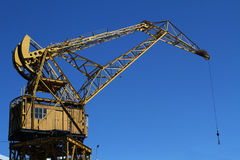 Old crane in Puerto Madero Stock Image