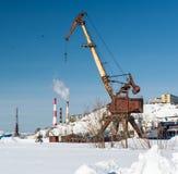 Old crane Stock Photos