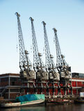 Old cranes Royalty Free Stock Photo