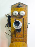 Old crank style telephone Royalty Free Stock Image