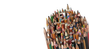 Old crayons Royalty Free Stock Photography