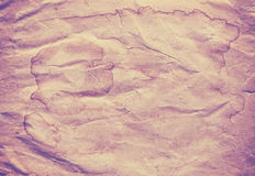 Old creased stained paper background or texture. Royalty Free Stock Photography
