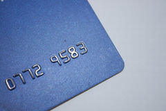 Old credit card Stock Images