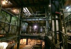 Old creepy, dark, decaying, destructive, dirty factory. Old creepy dark decaying destructive dirty factory Royalty Free Stock Photos