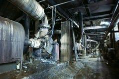 Old creepy, dark, decaying, destructive, dirty factory. Old creepy dark decaying destructive dirty factory Stock Photo