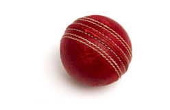 Old Cricket Ball stock images