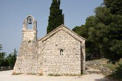 Old Croatian church Royalty Free Stock Photography