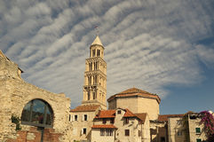 The old Croatian city of Split Stock Photos