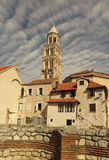 The old Croatian city of Split royalty free stock photos