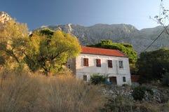 Old croatian house below Biokovo Stock Images
