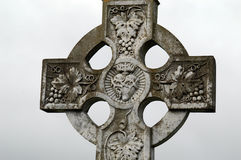 Old cross on a graveyard Stock Photography