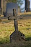 Old Cross Headstone Royalty Free Stock Photos