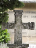 Old cross in Les Baux-de-Provence Stock Photography