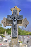 Old cross of a tomb Stock Photos