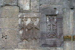 Old Crosse (khachkar)  in the Tatev monestry, Armenia. Royalty Free Stock Photography