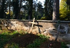 Old crosses Royalty Free Stock Images