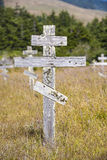 Old crosses at the historic Royalty Free Stock Photos