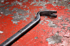An old crowbar Stock Photos