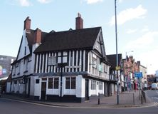 The Old Crown, Birmingham`s oldest pub, England Stock Images