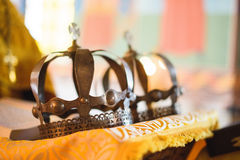 Old Crowns Royalty Free Stock Image