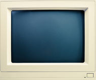 Old CRT computer monitor Stock Images