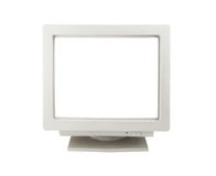 Old CRT monitor Royalty Free Stock Photography