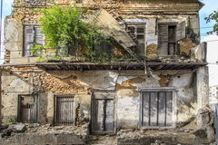 Old crumbling building Royalty Free Stock Images