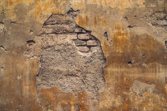 Old Crumbling European Wall Background Royalty Free Stock Image
