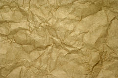 Old crumpled paper Royalty Free Stock Photo