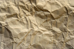 Old crumpled paper Royalty Free Stock Image