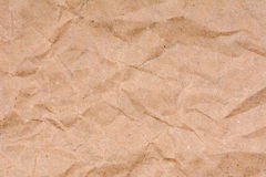 Old crumpled paper texture background, close up Stock Photography
