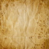Old crumpled paper texture Royalty Free Stock Photography
