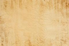 Old crumpled paper texture Stock Image