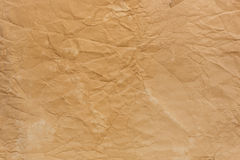Old crumpled paper texture Stock Photos