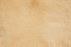 Old crumpled paper texture Royalty Free Stock Image