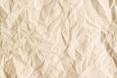 Beige aged paper sheet background. Stock Images