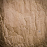 Old Crumpled Rough Paper Stock Photography